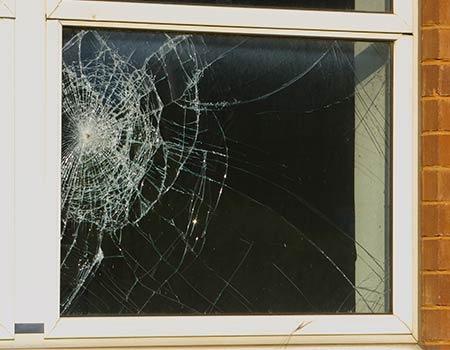 glasschade repareren Muiderberg